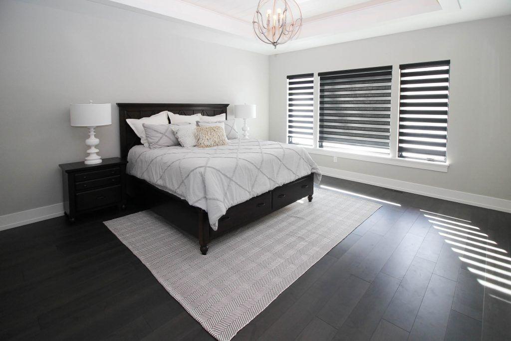Dark Maple Hardwood Bedroom Flooring Hardwood bedroom