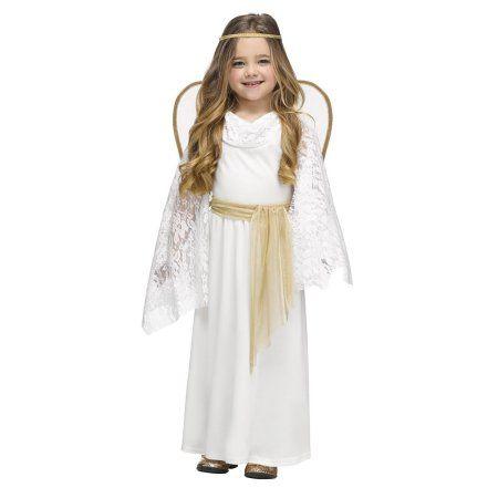 Angelic Miss Toddler Halloween Costume, Toddler Girl\u0027s, Size 36 - angel halloween costume ideas