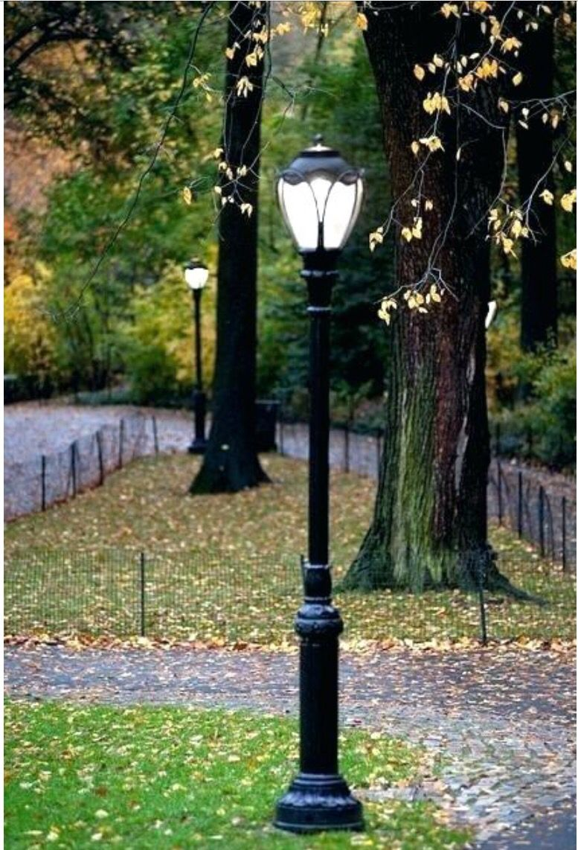 Light Pole Front Yard Lighting Outdoor Landscape Lighting