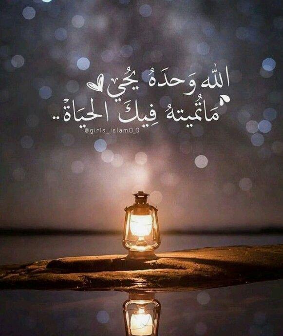الله وحده يحيي ما تميته فيك الحياة Beautiful Quran Quotes Quran Quotes Love Islamic Quotes Wallpaper