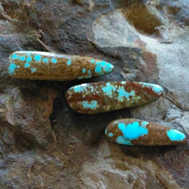 Turquoise Stones, Setting Turquoise, Lapidary, All American Turquoise, Turquoise from Jessica Sugar, Turquoise over diamonds, turquoise for days, silversmithing, turquoise ring