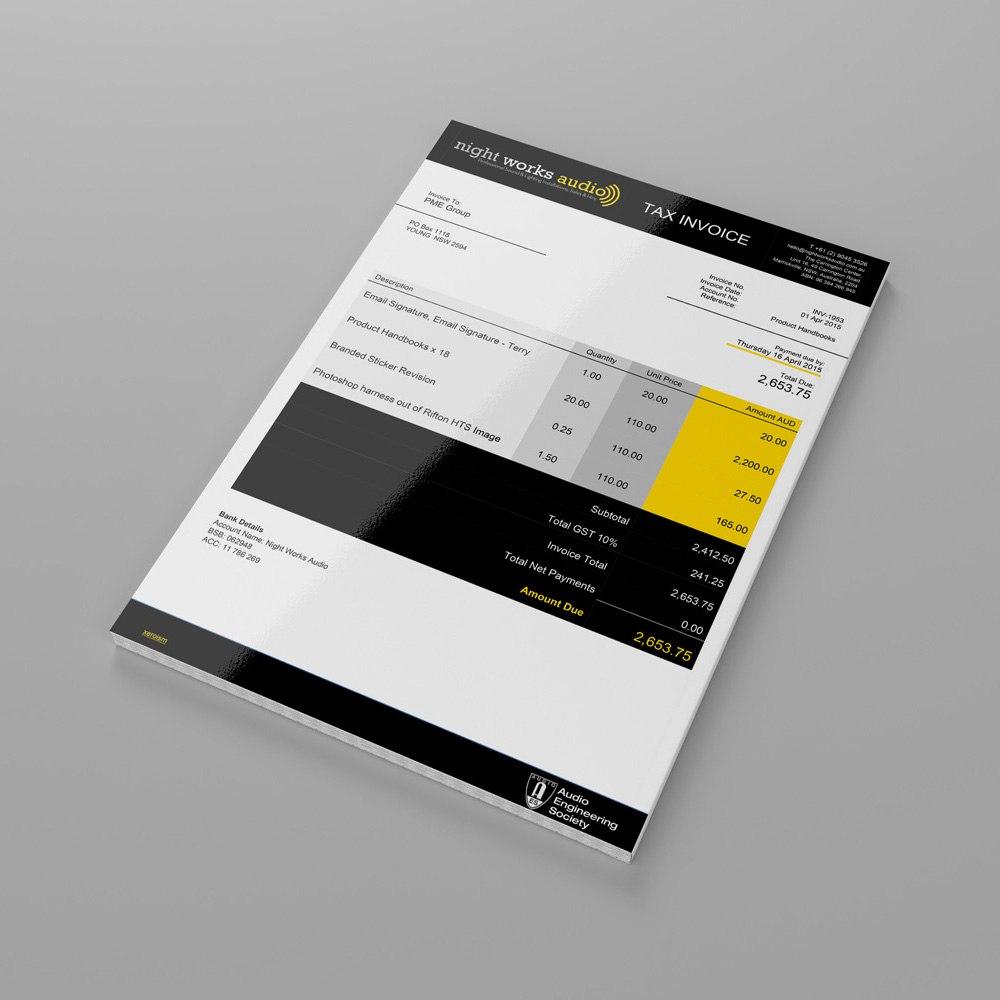 Service Invoice Xero Template Image Design Letsgonepal For Xero Custom Invoice Template 10 Professional Templates Invoice Template Invoice Layout Templates