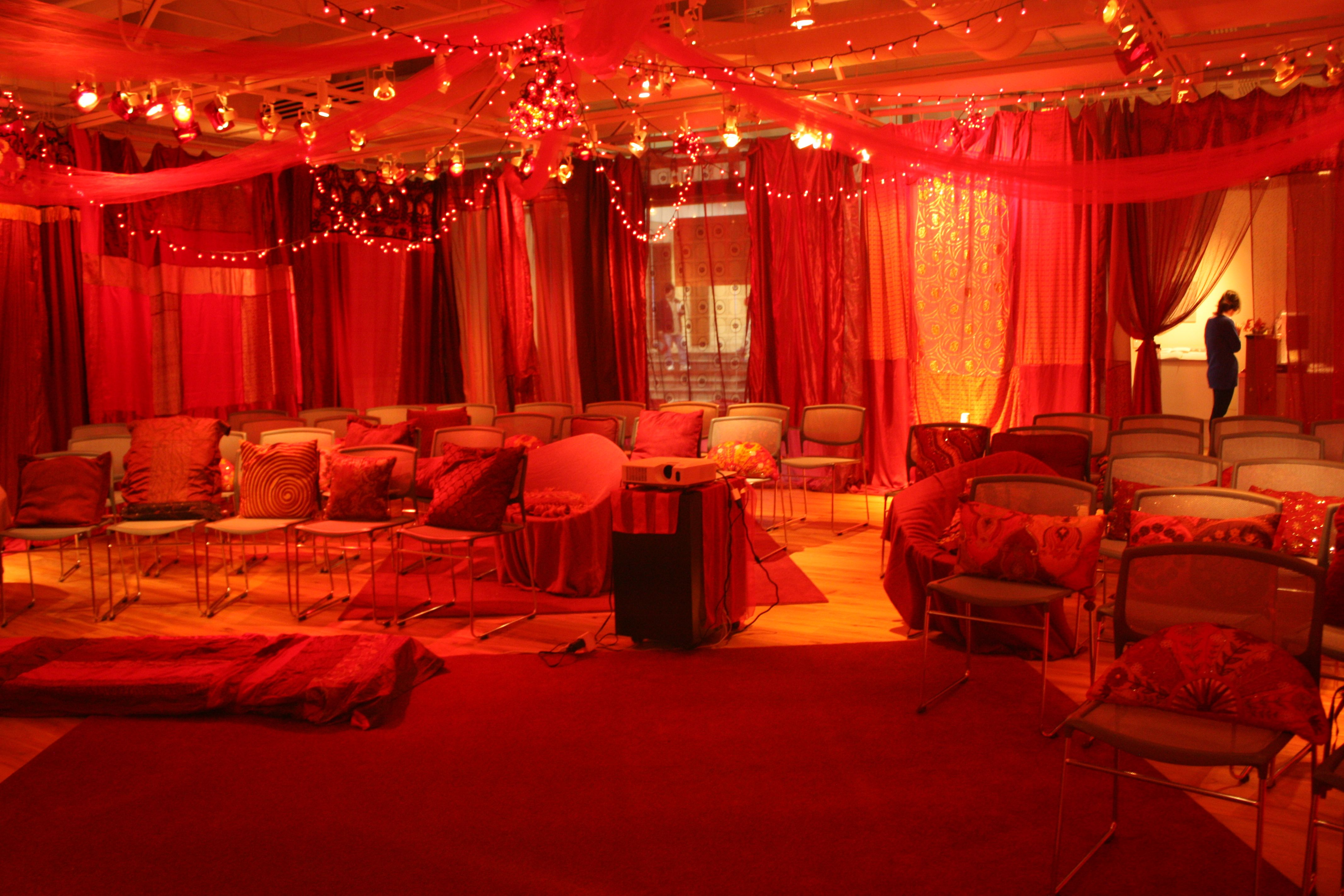 How i made my red tent with images red rooms red tent