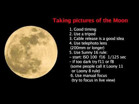 Lesson 16 How To Photography The Moon By Easyexposure Photographing The Moon Moon Photography Photography Basics