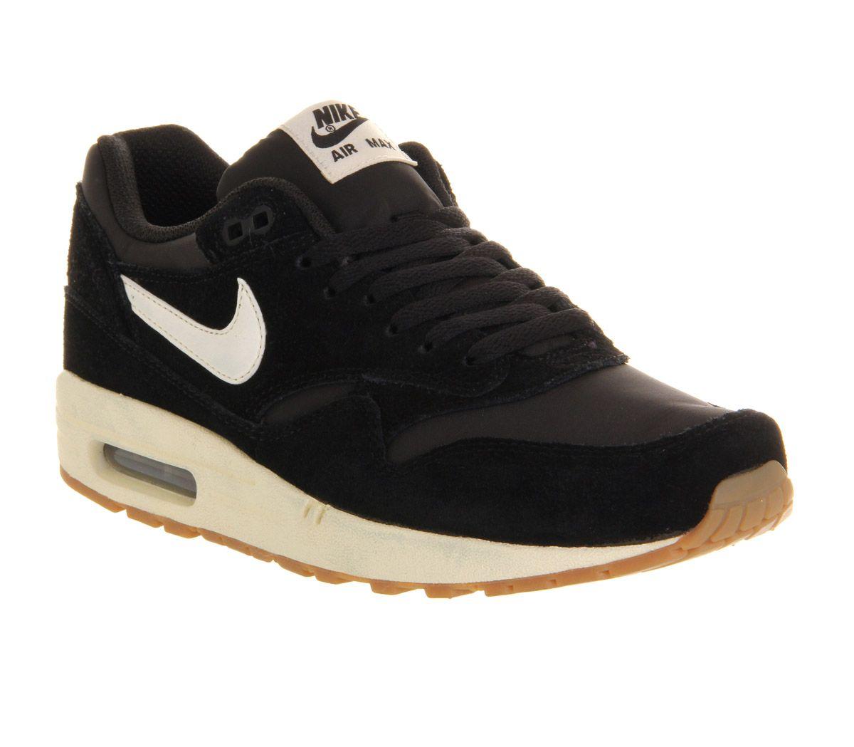 Nike Air Max 1 Schuh Essentiel Noir / Voile / Noir