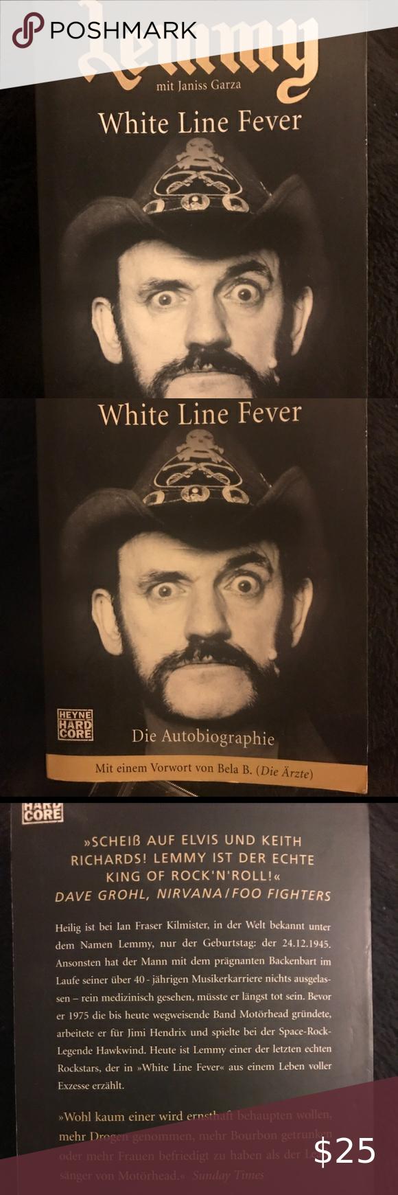 Lemmy die Autobiographe Book in German