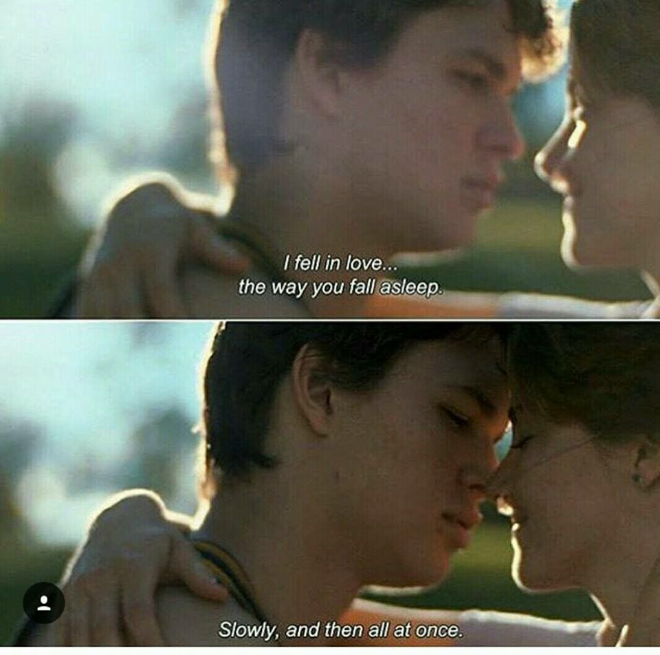 Pin by BrelynMiranda on Love/Couples ♡ | The fault in our ...