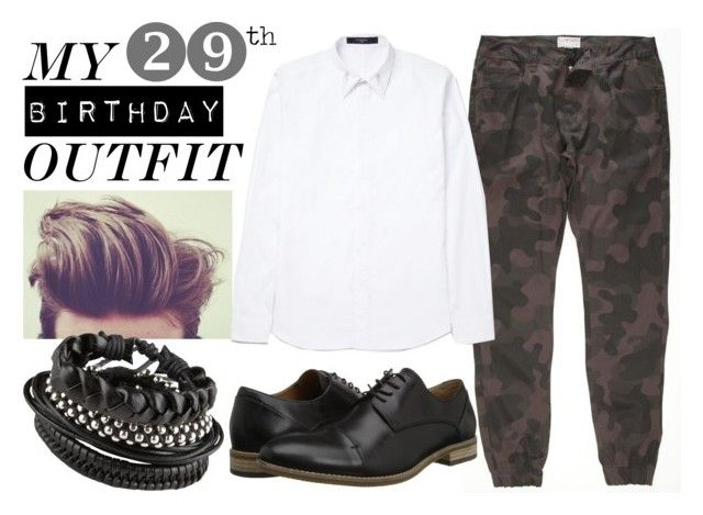 """""""My 29th Birthday Outfit"""" by bradschultzdesign ❤ liked on Polyvore featuring Elwood, Givenchy, ALDO, birthday, ootd and camo"""