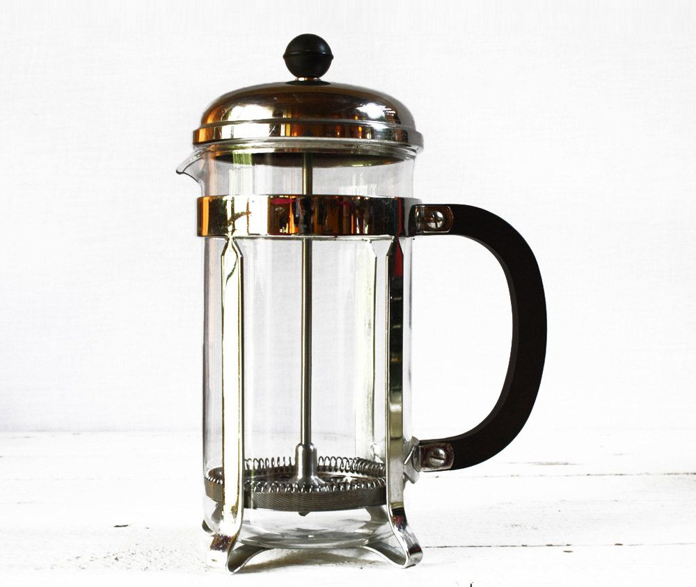 "MID CENTURY french FRENCH Press Plunger coffee maker Melior Paris. $75.00, via Etsy. (Sold!!!) I bought a ""new"" unused one today for $3"