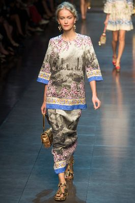 Dolce & Gabbana Spring 2014 Ready-to-Wear Fashion Show: Complete Collection - Style.com