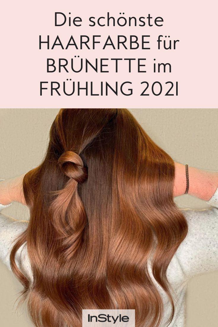 Frisuren-Trend: Die schönste Haarfarbe für Brünette im ...