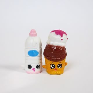 Shopkins Exclusives Wally Water & Kylie Kone. These 2 come with ...