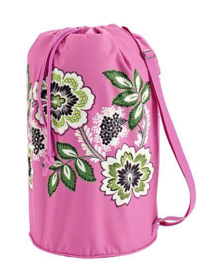 d53f302c8d Amazon.com  Vera Bradley Laundry Bag (Priscilla Pink)  Clothing ...