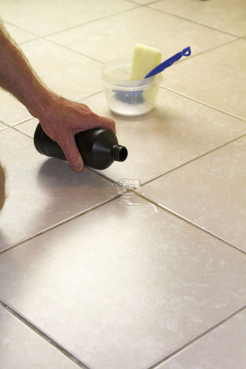 7 Tips For How To Clean Stained Grout Cleaning Hacks Grout