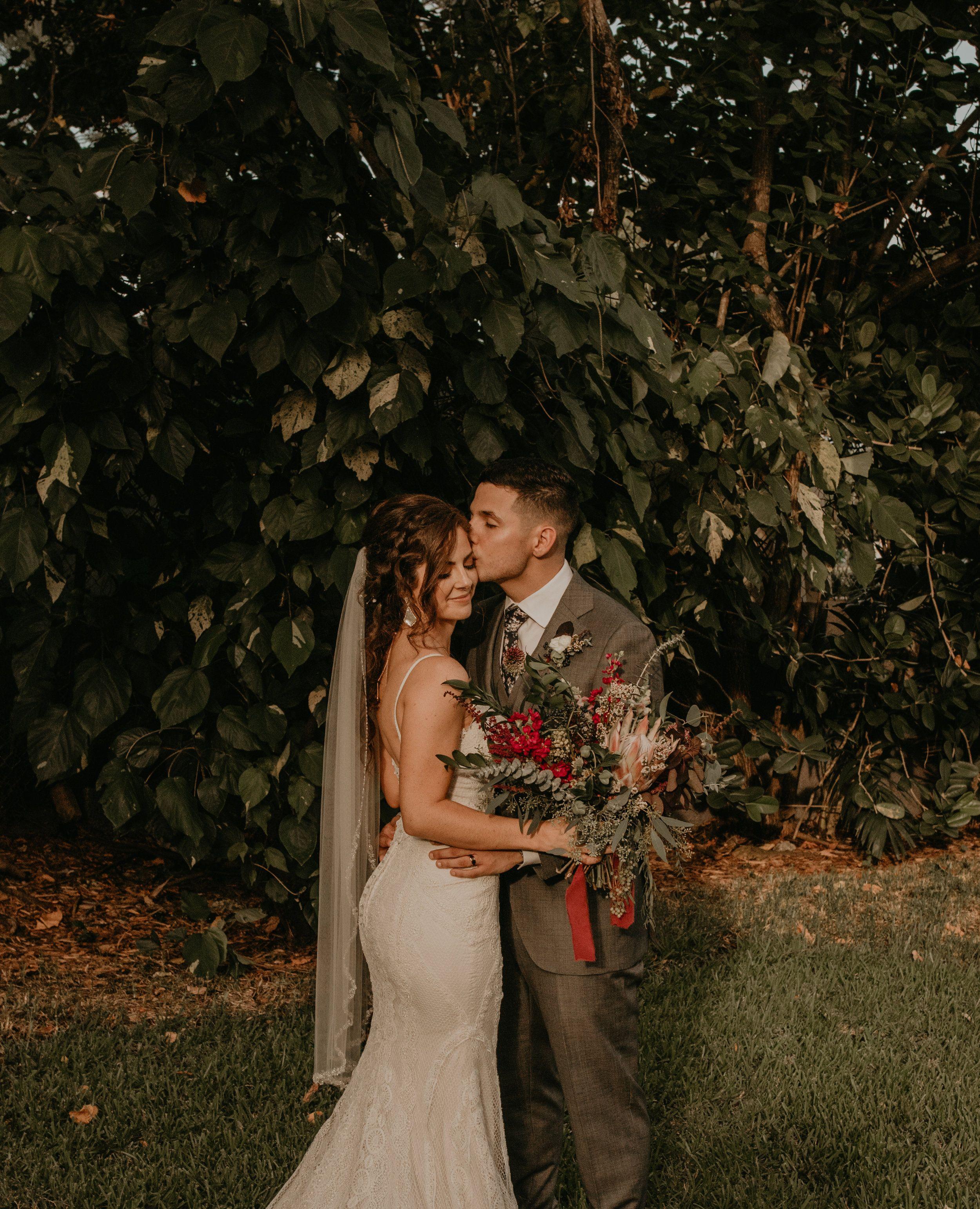 Miami Florida Garden Wedding Michelle and Jeffrey