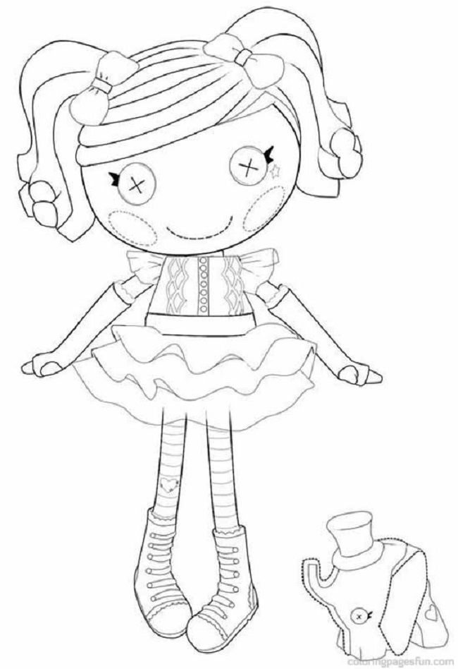 Kleurplaten Prankster Lalaloopsy Coloring Pages To Print Coloring Pages