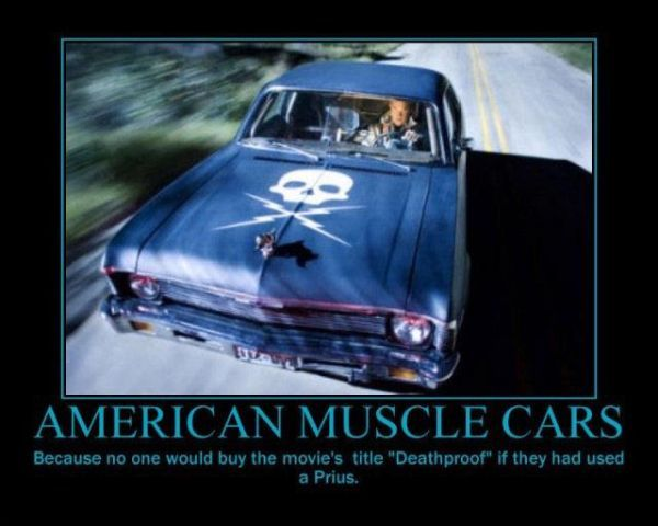 Musclecars Prius Horsepower Ecofriendly Environmental Muscle