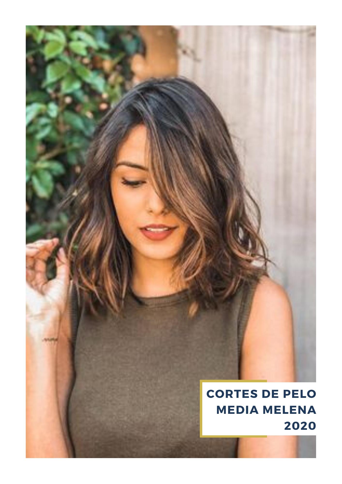 Pin En Cortes De Pelo Media Melena 2020