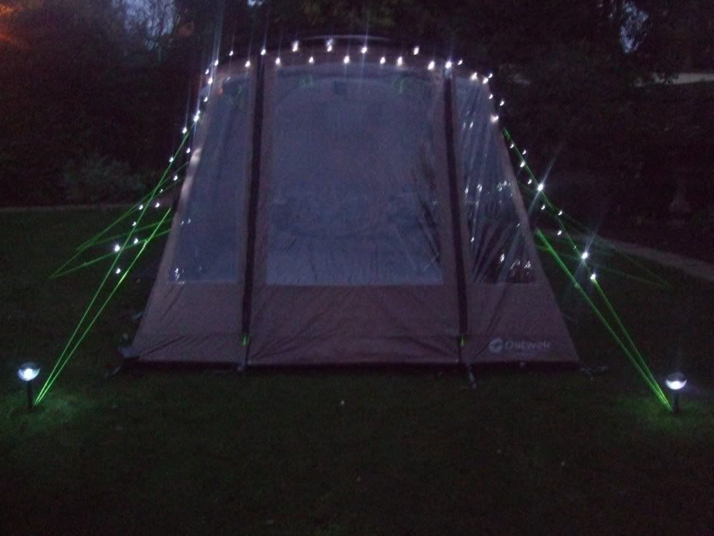 We Will Have A Pretty Tent Solar Powered Fairy Lights Love