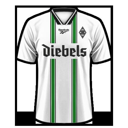 Cyrix Room Trikothistorie Borussia Monchengladbach Vfl Borussia Monchengladbach Vfl Borussia