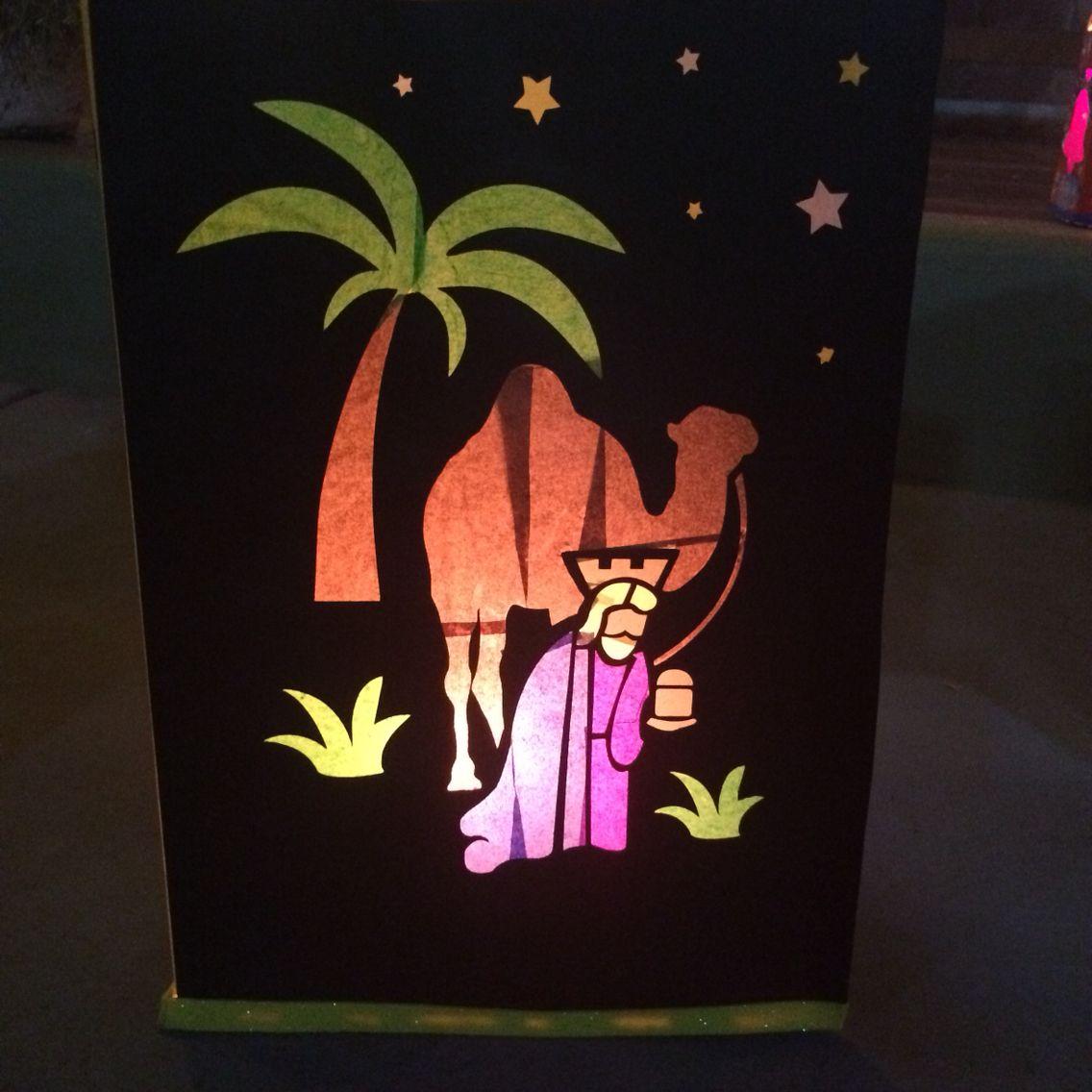 Farol de navidad con el rey mago vicani design pinterest for Disenos de faroles
