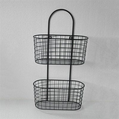 Captivating Cheungu0027s FP 3915 Metal Wall Hanging Storage Basket