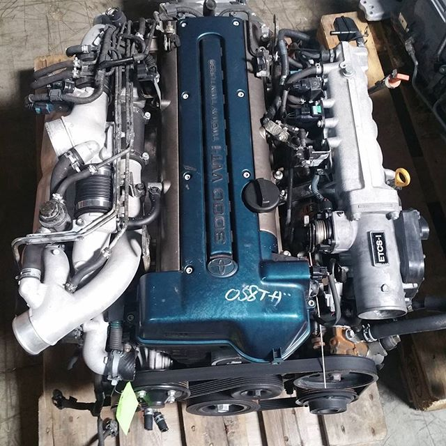 One really clean 2JZ GTE swap ready for any chassis