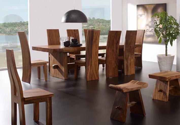 Mesas de comedor de madera SUWAR. Decoración Beltrán, tu ...