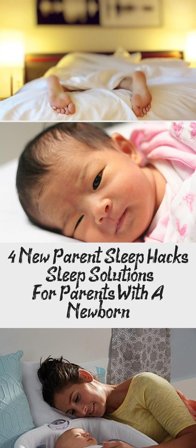 Learn these 4 great sleep hacks that will save your sanity and your sleep  during..., #babycarejournal #great #Hacks … in 2020 | Newborn sleep, New  parents, Sleep solutions