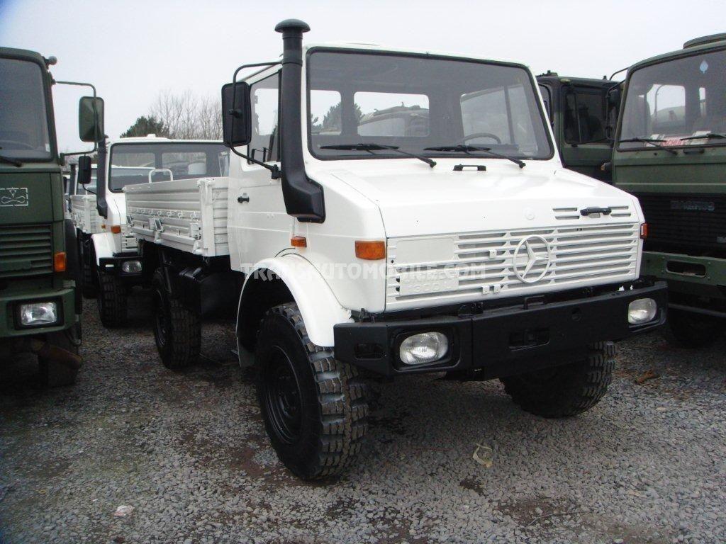 trucks flatbed mercedes unimog u 1300 l diesel 4x4. Black Bedroom Furniture Sets. Home Design Ideas