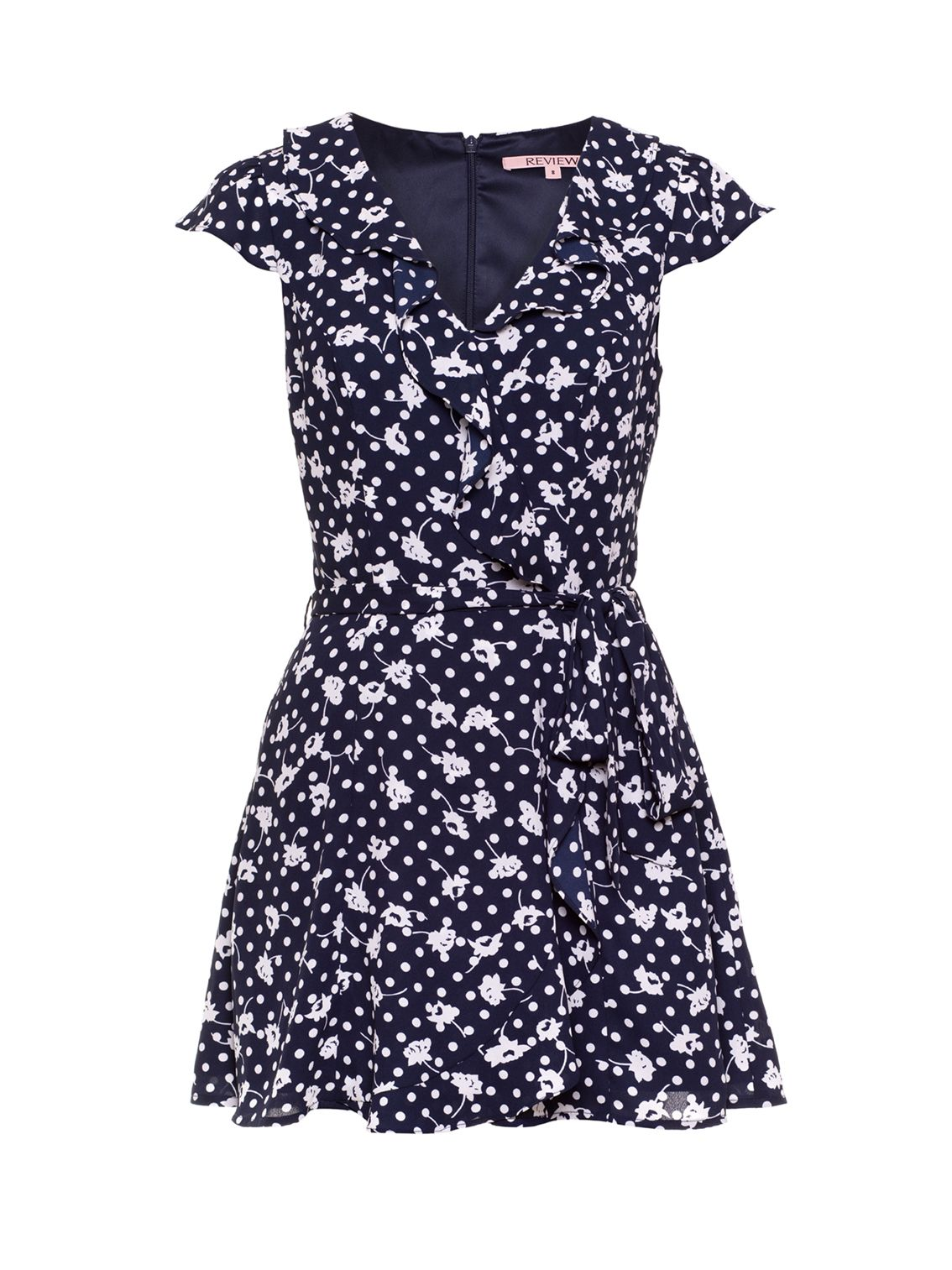 Domino Playsuit Navy And White Playsuit In 2019