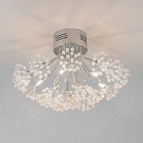 John Lewis Blossom Ceiling Light, 6 Arm Online At Johnlewis.com £140 Part 49