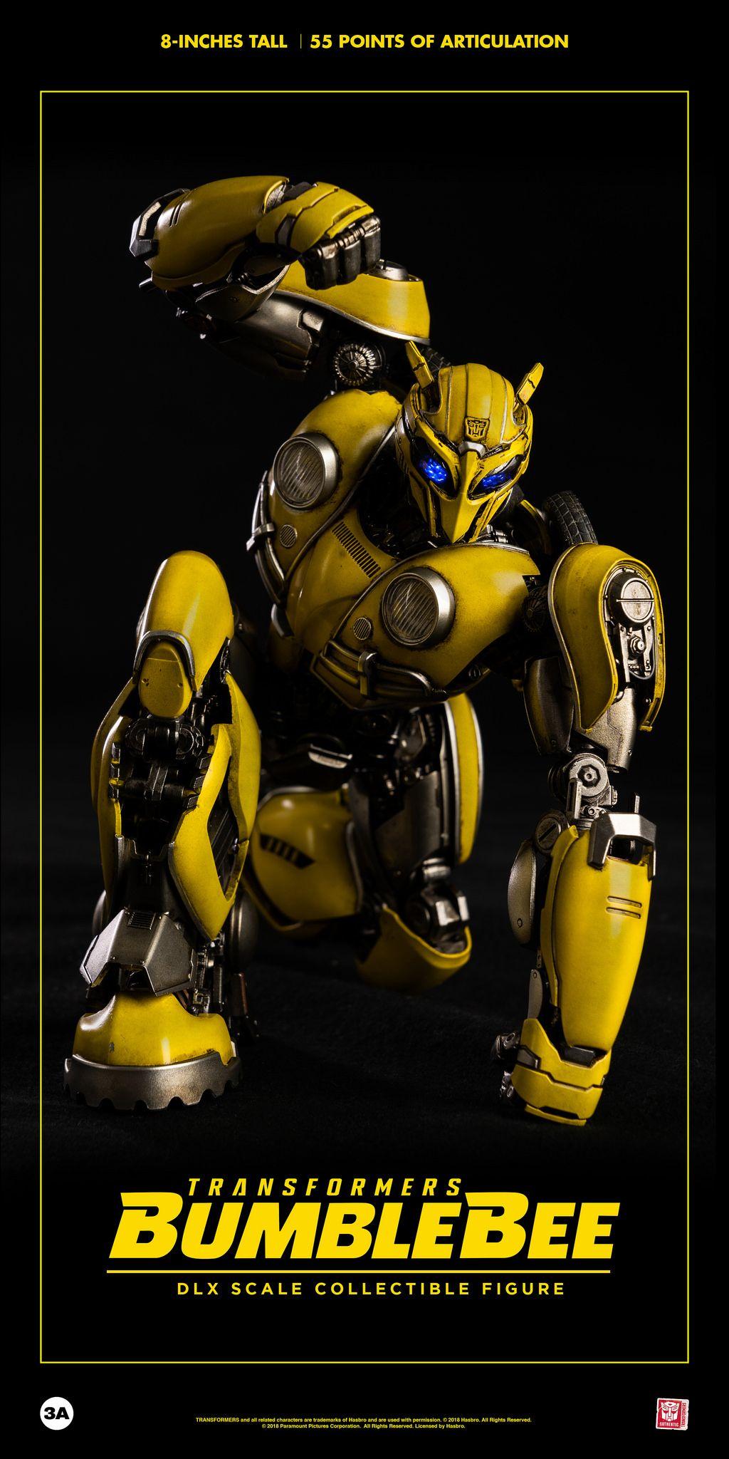 ThreeA HASBRO 8/'/' Toys 3A Transformers Rumored Bumblebee Action Figure Robots
