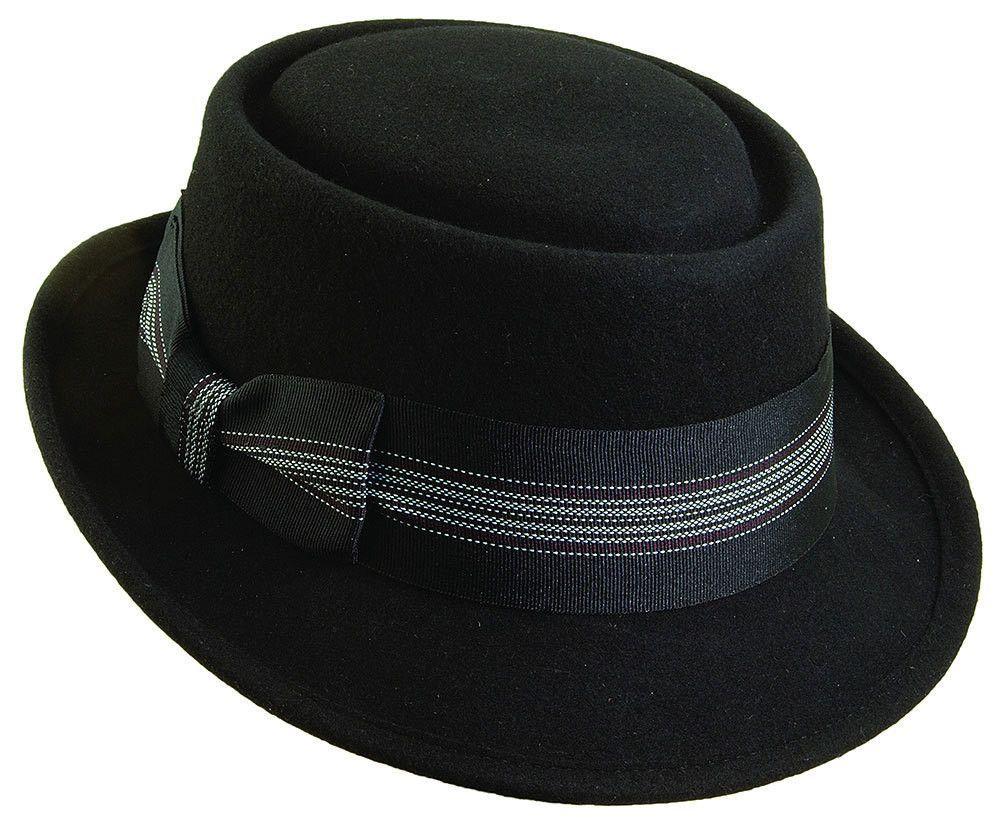 Wool Felt Porkpie Hat by Sinatra