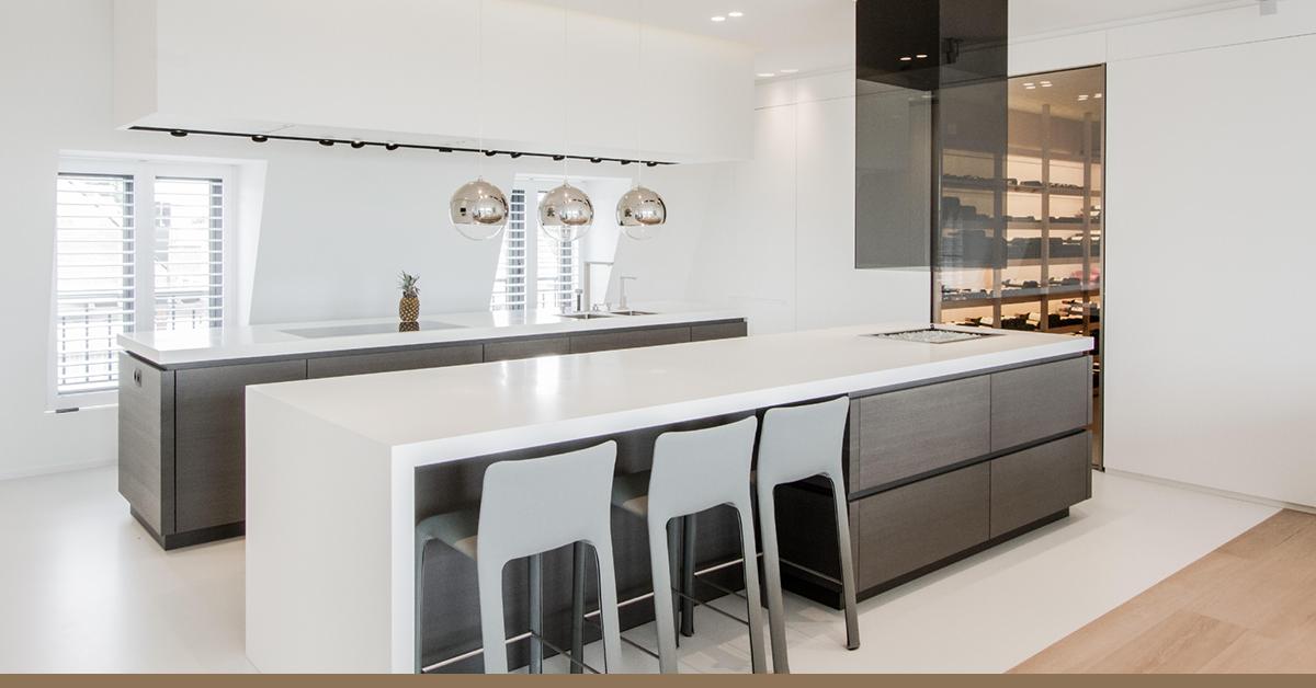 Witte Keuken Sfeer : Verander je graag van stijl? dan is een witte keuken ideaal met de