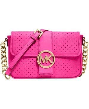 Michael Kors neon pink bag #fashion #style