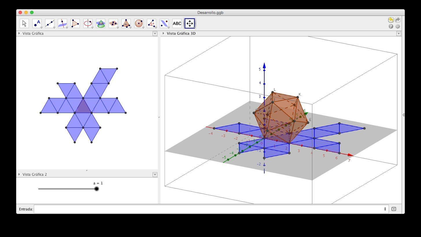 Sólidos Platónicos con GeoGebra (3D)  | ΓΕΩΜΕΤΡΙΑ | Diagram