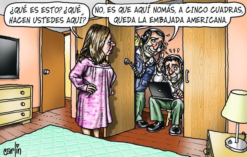 ¿Espionaje a la vicepresidenta? #Peru