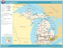 Map Of Michigan Upper And Lower Peninsula Google Search Michigan