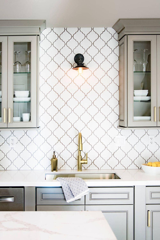 44 Top Arabesque Tile Kitchen Backsplash Design Ideas Arabesque Tile Backsplash Kitchen Kitchen Backsplash Designs Arabesque Tile Kitchen