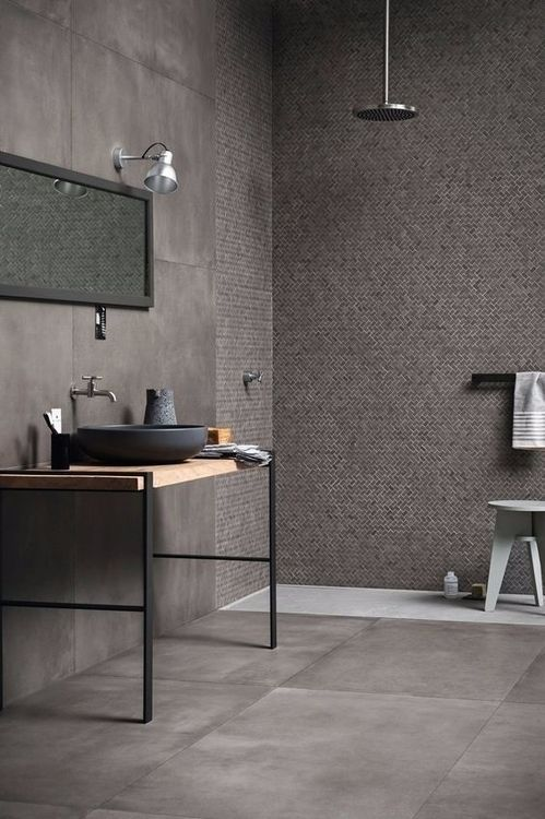 Cocoon Modern Bathroom Inspiration Bycocooncom Grey Stainless