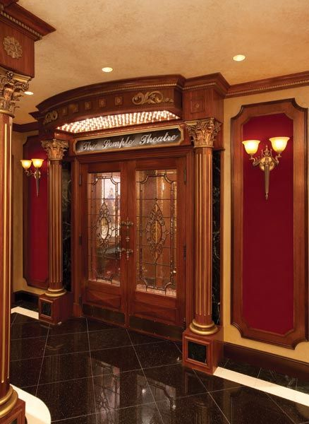 Genial Home Theater Doors | Slideshow : Rack U0027em Up: Racks Make A Home Theater