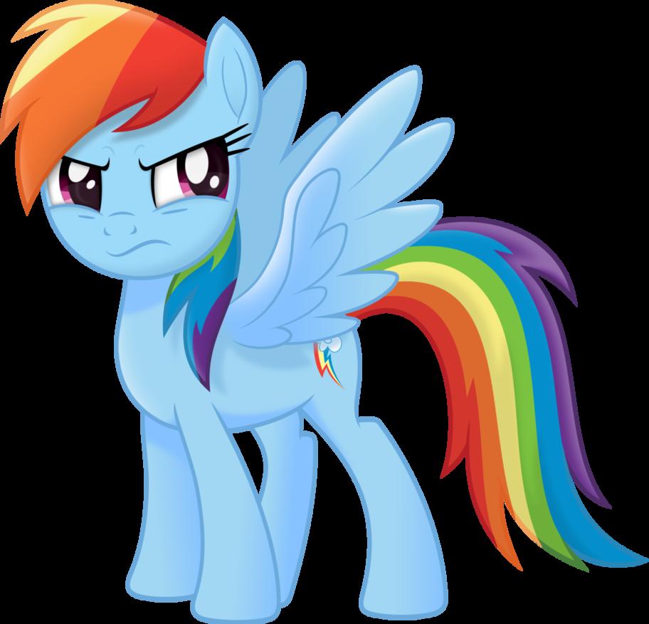 Rainbow Dash Movie Style by Negatif22   MLP