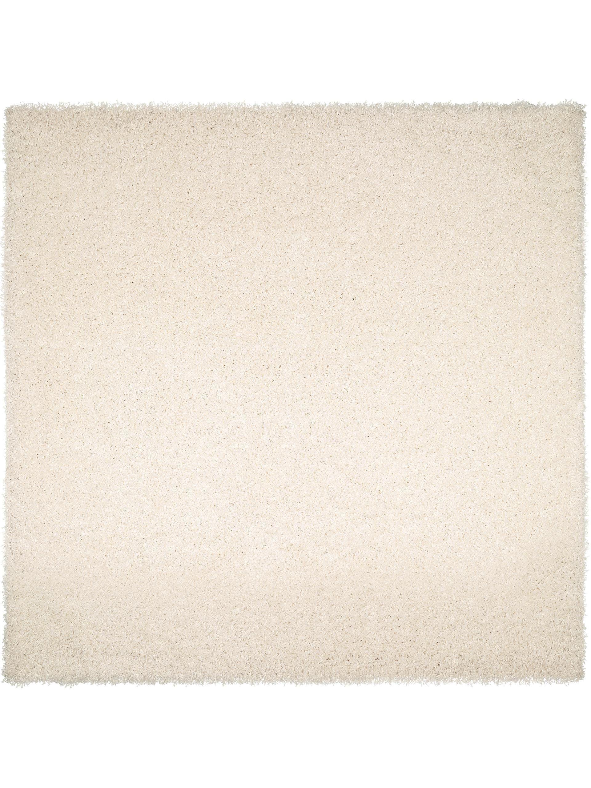 Tapis Long Poil Blanc enuta tapis shaggy à poils longs / longues mèches blanc