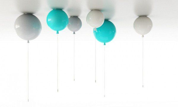 Colorful Helium Balloons Wall Sconces Id Lights Ceiling Lamp Ceiling Lights Lamp