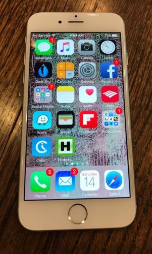 Apple iPhone 6 - 128GB - Silver (Unlocked) Smartphone MINT CONDITION! https://t.co/kRbLHzbo8s https://t.co/Bk4wZvcahd