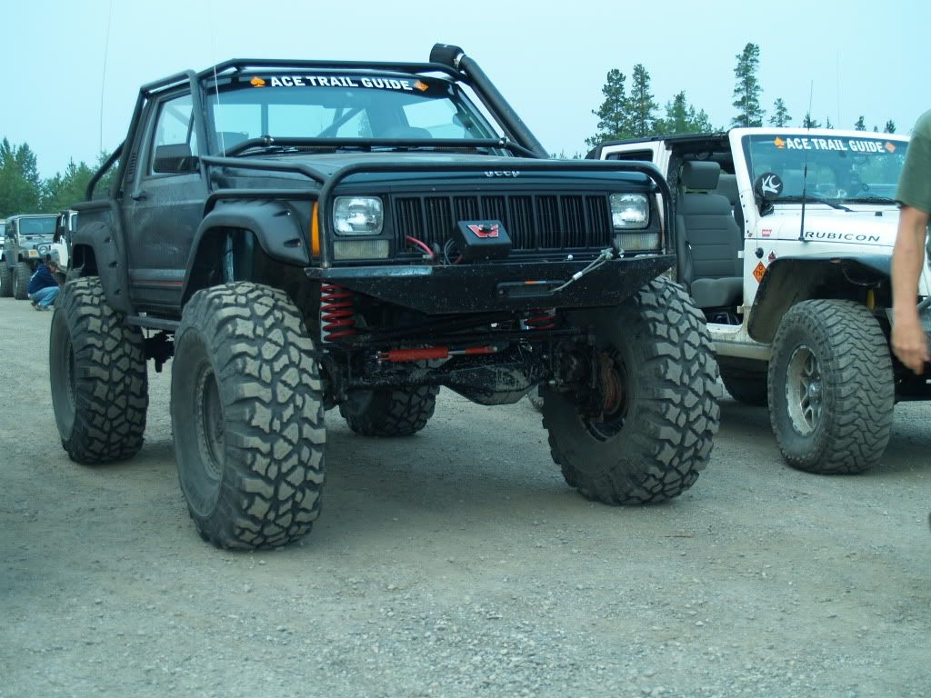 O O Jeep Mj Commanche 42 Tires On Portal Axels Jeep Xj