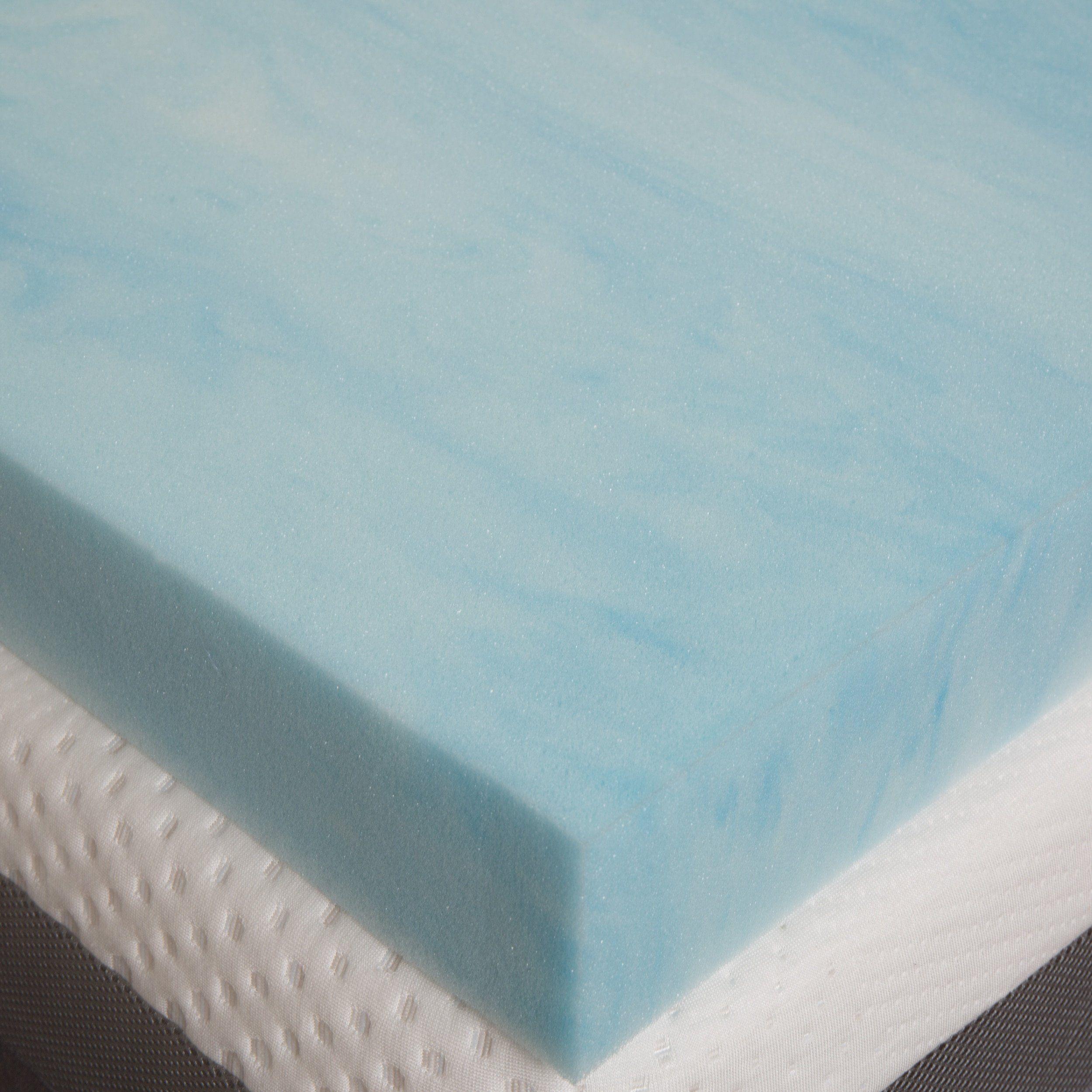 slumber solutions choose your comfort 4inch gel memory foam mattress