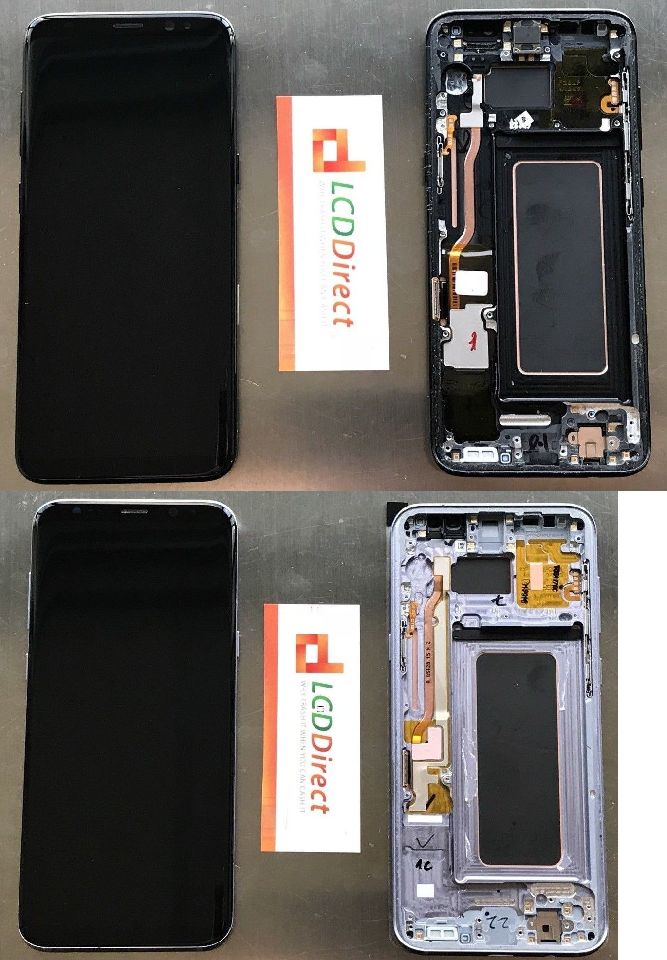 Cell Phone Parts 182072: Samsung S8 Plus G955 Complete Lcd Screen