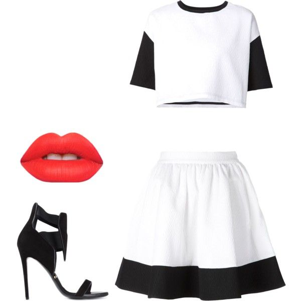 Untitled #399 by ashleysquire on Polyvore featuring polyvore fashion style ComeForBreakfast Gianmarco Lorenzi Lime Crime